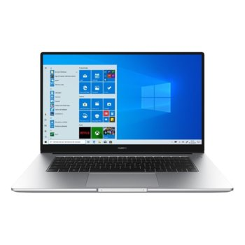 "Лаптоп Huawei MateBook D 15 (BohrK-WAQ9BR)(сив), четириядрен Zen 2 AMD Ryzen 5 3500U 2.1/3.7 GHz, 15.6"" (39.62 cm) Full HD IPS Anti-Glare Display, (HDMI), 8GB DDR4, 256GB SSD, USB Type C, Windows 10 Home, 1.53g image"