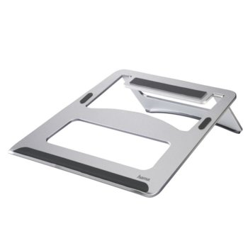 "Стойка за лаптоп Hama Aluminium, до 15.4"" (39.11 cm), сребриста image"
