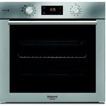 Фурна за вграждане Hotpoint-Ariston FA4S842JIX HA , 71л. обем, 11 програми, 3 програми за готвене на ПАРА(Хляб/Месо/Риба), покритие против отпечатъци на пръсти, енергиен клас А+, инокс image