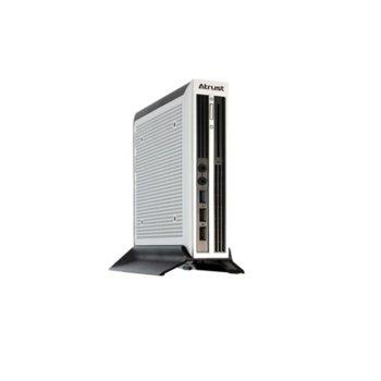 Терминал Atrust T220L thin client, четири-ядрен Intel Bay Trail 2.0GHz, 2GB RAM, 4GB Flash памет, 1x USB 3.0, Atrust OS, 1Kg image