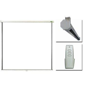 """Екран Privileg ERV200, за монтаж на стена и таван, Matt White, 2000x1500, 100"""" (254 cm), 4:3 image"""