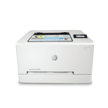 Лазерен принтер HP Color LaserJet Pro M254nw, цветен, 600 x 600 dpi, 21 стр/мин, Wi-Fi, LAN, USB, А4 image