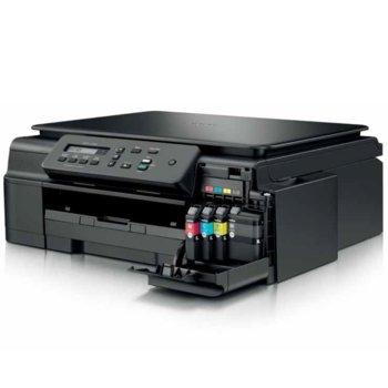 Мултифункционално мастиленоструйно устройство Brother DCP-J100, цветен, принтер/скенер/копир, 6000x1200 dpi, 11 стр/мин, USB, A4 image