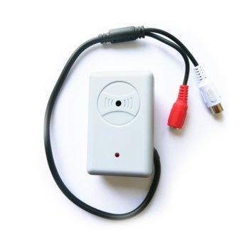 Mикрофон за видеонаблюдение CV-MP10, RCA изход, 30mA image