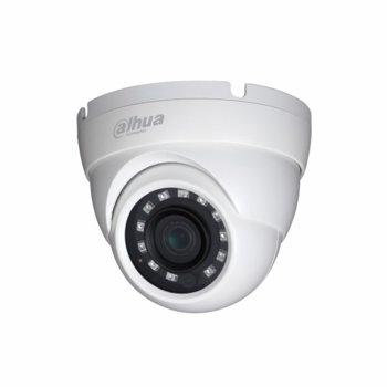 HDCVI камера Dahua HAC-HDW1230M-0280B, куполна камера, 2MPix(1920×1080@30fps), 3.6mm, IR осветеност (до 30 m), външна IP67 image