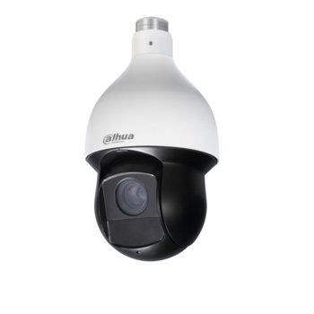 IP камера Dahua SD59430U-HNI, куполна, PTZ , 4 Mpix(2592x1520@25FPS), 4.5mm~135mm обектив, H.265+/H.265/H.264+/H.264, IR осветеност (до 100 метра), PoE+, IP66 защита от вода, RJ-45 image