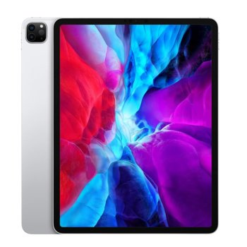 "Таблет Apple iPad Pro (4th Generation)(MY3D2HC/A)(сребрист), 4G/LTE, 12.9"" (32.76 cm) Liquid Retina дисплей, осемядрен Apple A12Z Bionic, 6GB RAM, 128GB Flash памет, 12.0 + 10.0 MPix & 7.0 MPix камера, iPad OS, 643g image"