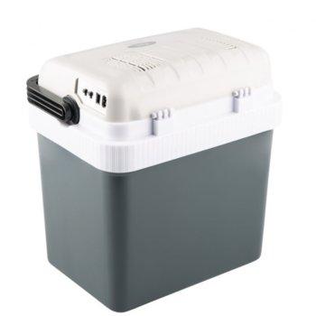 Хладилна чанта Rohnson R 4024, капацитет 24 литра, поддържане на температура от 20 до 60°C, LED индикатор за охлаждане и нагряване, бяло/сива image