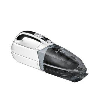 Прахосмукачка Bosch BHN14N, ръчна, без торба, до 12 мин. време на работа, High Airflow система, бяла image