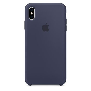 Apple iPhone XS Max Silicone Case - Midnight Blue product