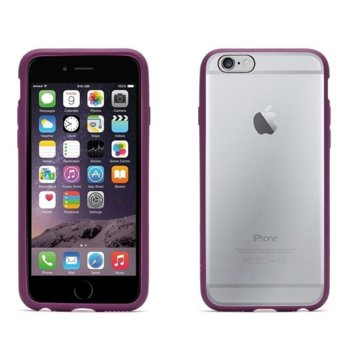 Калъф iPhone 6,6S, страничен протектор (рамка), термополиуретанов, Griffin Reveal Ultra-thin Hard Shell, лилав image