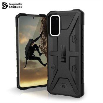 Калъф за Samsung Galaxy S20, хибриден, Urban Armor Pathfinder 211977114040, удароустойчив, черен image