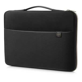 HP Carry Sleeve 15.6 Black Gold 3XD35AA product
