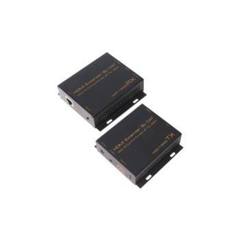 Екстендер Estillo HDEX008M1, HDMI предавател и приемник, до 150м с UTP(cat 5e/6) кабел image