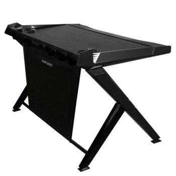 Компютърно бюро DXRacer, GAMING DESK 1000-N, геймърско, черно image