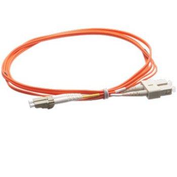 Оптичен пач кабел Atel, LC/PC(м) към SC/PC(м), OM2, 50/125, мулти мод, 5m image