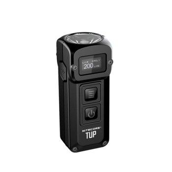 Фенер Nitecore TUP black, Li-ion батерия, 1000 lm, за ключодържател, черен image