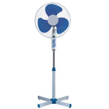 Настолен вентилатор Sapir SP 1760 BM, 3 степени, 40 cm диаметър, аеродинамични лопатки на витлото, син image