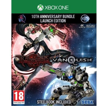 Игра за конзола Bayonetta and Vanquish 10th Anniversary Bundle, за Xbox One image