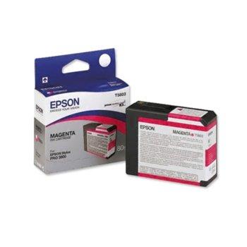 ГЛАВА ЗА EPSON Stylus Pro 3800 - T5803 - Magenta - P№ C13T580300 - 80 ml image