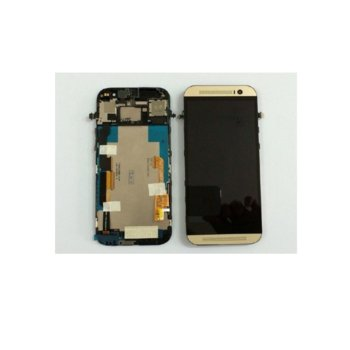 HTC One M8s touch and frame Gold HQ product