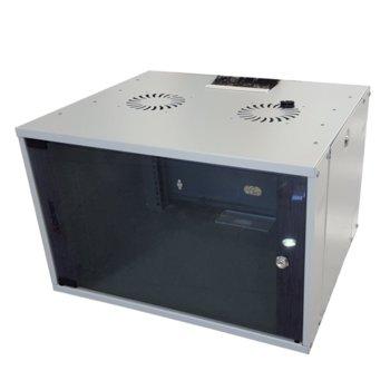 Комуникационен шкаф Mirsan MR.WTC07U45DE.02, 7U, 540 x 350 x 450 мм, бял image