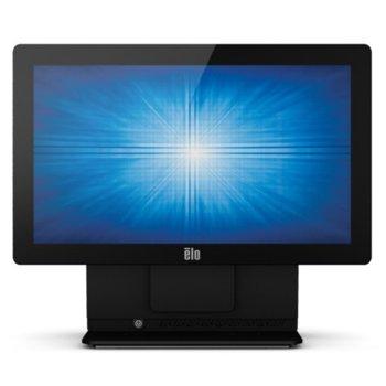 """Тъч компютър Elo E-Series 15.6-inch (15E2) AiO (E353557), 15.6"""" (39.62cm) резистивен сингъл-тъч дисплей, четириядрен Bay Trail Intel Celeron Processor J1900 2.42 GHz, 4GB DDR3L, 128GB SSD, 4x USB 2.0, Windows 10, черен image"""
