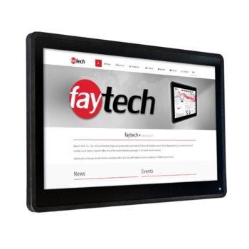 """Индустриален компютър Faytech 1010501623 FT156N4200CAPOB, двуядрен Kaby Lake Intel Core i5-7300U 2.6/3.5 Ghz, 27"""" (68.58 cm) Full HD Touchscreen Display, 8GB DDR4, 128GB SSD, 2x USB 3.0, Linux image"""