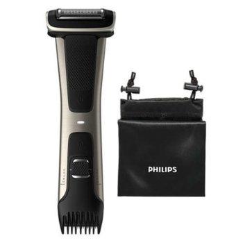 Тример за тяло Philips Bodygroom 7000 BG7025/15, 5 степени, 80 мин. време на работа за едно зареждане, черен image