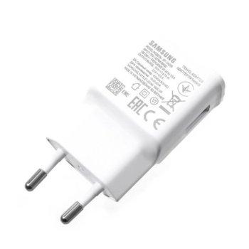 Зарядно устройство Samsung EP-TA200, от контакт към USB-A(ж), DC 9V 1.67A / DC 5V/2A, бързо зареждане, бяло, bulk image