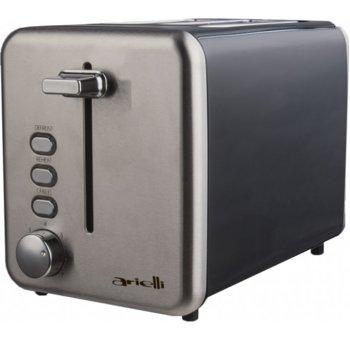 Тостер Arielli AET-1710RS, 7 степени, функция претопляне, функция размразяване, 850W, инокс image