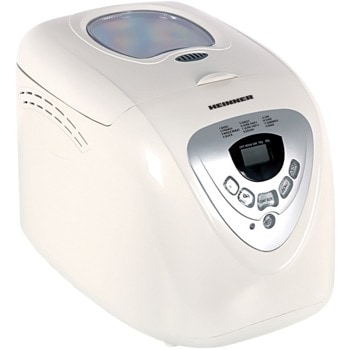 Хлебопекарна Heinner HBM-690W, 12 програми, 3 степени на препичане, LCD дисплей, 600W, вмecтимocт до 900g, бяла image