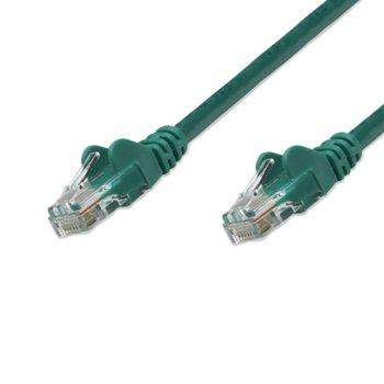 Пач кабел Intellinet, UTP, Cat.6, 3m, зелен image