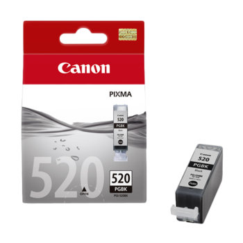ГЛАВА CANON PIXMA iP 3600/4600/MP540/MP620/MP630/MP980 - Black ink tank - P№ 2932B001/ PGI-520BK - заб.: 19ml. image