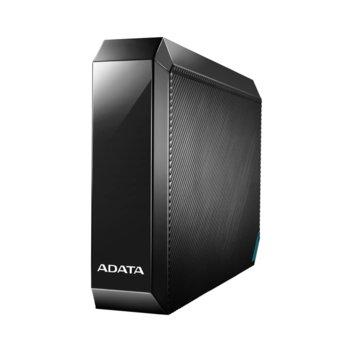 """Твърд диск 4TB, A-Data HM800, черен, външен, 3.5"""" (8.89 cm), USB 3.2 Gen 1 image"""