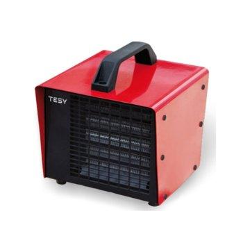 Вентилаторна печка Tesy HL 830 V PTC, 3000W, до 32 м2 отопляема площ, защита срещу прегряване, червена image