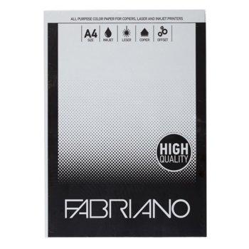 Копирен картон Fabriano, A4, 160 g/m2, сив, 50 листа image