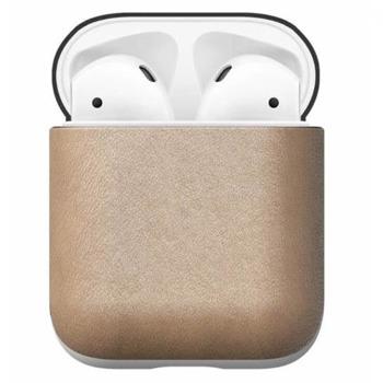 Защитен калъф Nomad Leather Case за Apple Airpods, естествена кожа, светлокафяв image