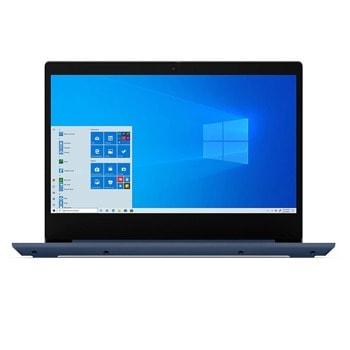 "Лаптоп Lenovo IdeaPad 3 14ALC6 (82KT004XBM)(син), шестядрен AMD Ryzen 5 5500U 2.1/4.0GHz, 14"" (35.56 cm) Full HD IPS Anti-Glare Display, (HDMI), 8GB DDR4, 512GB SSD, 2x USB 3.1, No OS  image"