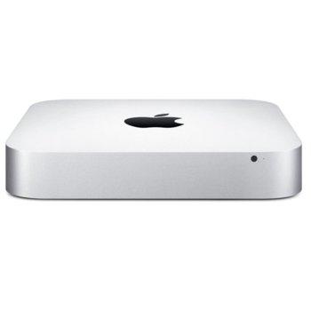 Мини компютър Apple Mac mini dual-core i5 2.6/3.1GHz, L3 cache, 8GB DDR3 RAM, 1TB HDD, Bluetooth, 4x USB, 1x RJ-45, OS X Yosemite, Intel Iris EE image