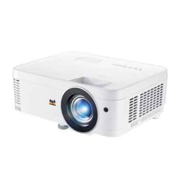 Проектор ViewSonic PX706HD, DLP, Short Throw, Full HD (1920x1080), 22000:1, 3000 lm, VGA, HDMI, USB-C, RS232 image