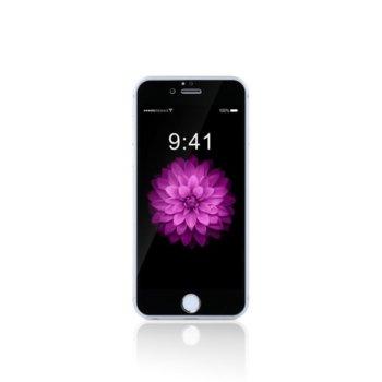 Протектор от закалено стъкло /Tempered Glass/ за iPhone 7/8, 5D, 0.15mm, Черен image