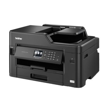 Мултифункционално мастиленоструйно устройство Brother MFC-J2330DW, цветен принтер/копир/скенер/факс, 4800 x 1200 dpi, 35 стр/мин, Wi-Fi, LAN, USB, A3, 6.8cm цветен сензорен дисплей image