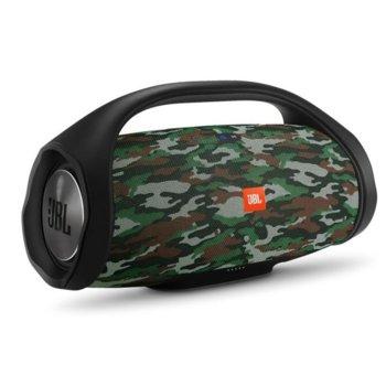 Тонколона JBL Boombox SQUAD, 2 канала, 60W RMS, Bluetooth/AUX, водоустойчива, до 24 часа работа, камуфлажна image