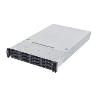 Сървър AIS 51B3/G 48449, шестядрени Haswell Intel Xeon E5-2609 v3 1.9GHz, 8GB DDR4 ECC LRDIMM, 2TB SATA HDD, 2x GbE LAN, 1x GbE management, 2x USB 3.0, 1x VGA, без OS, 1x 750W image