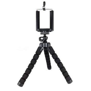 Мини трипод Digital One SP01033, универсален, висoчина 18см, черен image