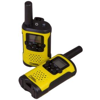Радиостанции Bresser National Geographic, 8 канала, до 6 km обхат, захранване x3 ААА батерии, жълто/черни image