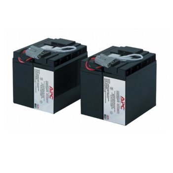 Battery replacement kit APC, 12V, 18Ah image