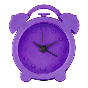 Часовник Hama Mini, силиконов, аналогово указание, аларма, различни цветове image