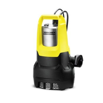 Помпа за вода Karcher SP 7 Dirt Inox, 750 W, 15500 l/h дебит, до 7 метра дълбочина, жълта/черна image